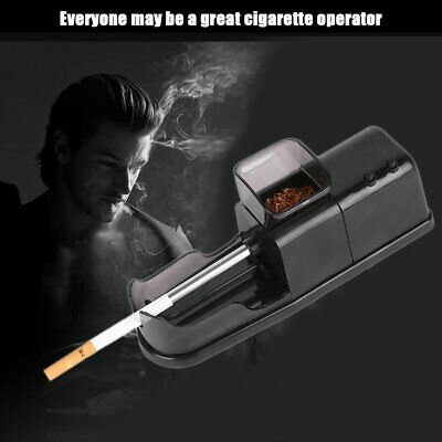 Portable Electric Cigarette Rolling Machine Automatic Injector Diy Maker O6