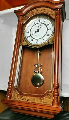 LONDON CLOCK CO. Westminster - Whittington Electric Swinging Pendulum Wall Clock