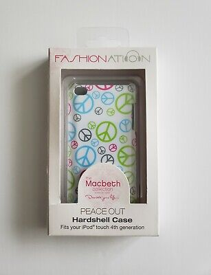 """iPod Fashion Nation """"Peace Out"""" Hardshell Case 4th generation Peace Sign"""
