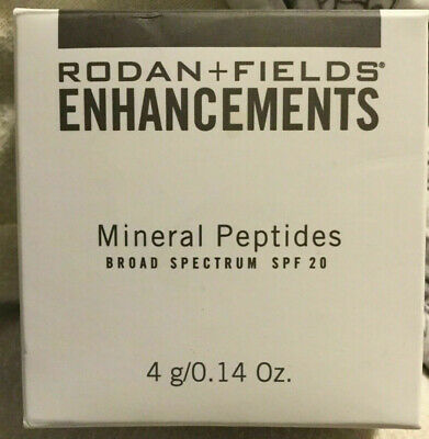 Rodan and Fields Enhancements Mineral Peptides SPF 20 EXP 5/20- NEW - LIGHT - UT