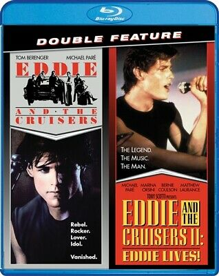 EDDIE AND THE CRUISERS + EDDIE AND THE CRUISERS II EDDIE LIVES New Blu-ray