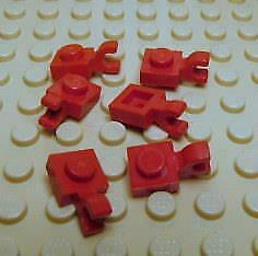 LEGO Parts~ Modified 1 x 1 with Clip Horizontal 61252 BLUE Plate 6
