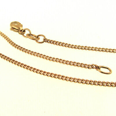 "James Avery Light Curb Chain Necklace 18"" 14k Gold 46cm CH-11 Cuban 585 Yellow"