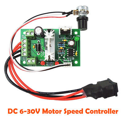 DC 6-30V 6A Reversible Motor Speed Controller Regulator Driver Switch PWM