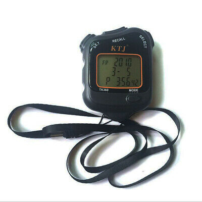 New Digital Handheld Sports Stopwatch Chronograph Counter Timer Watch