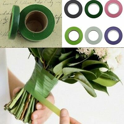 Corsages Buttonhole Florist Floral Stem Tape Artificial Flower Stamen Wrap DIY
