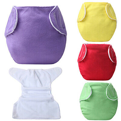 1Pc Adjustable Reusable Lot Baby Kids Washable Cloth Diaper Wrap Covers USA