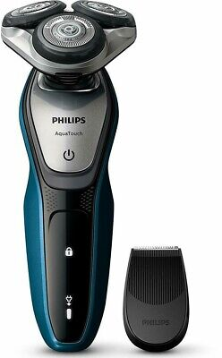 Philips S5420/06 Aquatouch Wet/Dry Cordless Electric Shaver + Precision Trimmer