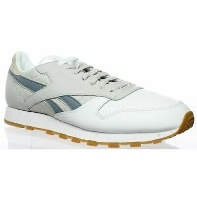 REEBOK MENS CLASSIC Leather Extra Butter WhiteSnowy Grey