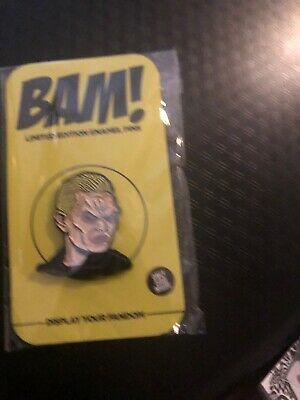 Exclusive BAM Box SPIKE BUFFY VAMPIRE Limited Edition Variant Enamel Pin //500