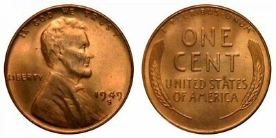 """1945D Lincoln Wheatback  Roll; One /""""Lower Mintage/"""" Solid Date Roll"""