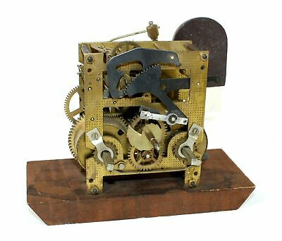 URGOS CLOCK MOVEMENT w/CHIME BAR and MOUNTING BLOCK - Time & Strike - NA145