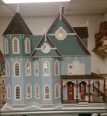 "1:12 Scale (1"") Miniature Dollhouse - Leon Victorian Gothic Dollhouse Kit - Ld02"