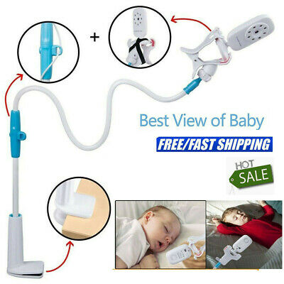 Universal Baby Monitor Stand Safe Video Camera Mount Holder Cot Crib Gifts