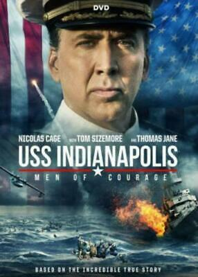 USS INDIANAPOLIS: MEN OF COURAGE (Region 1 DVD,US Import,sealed.)