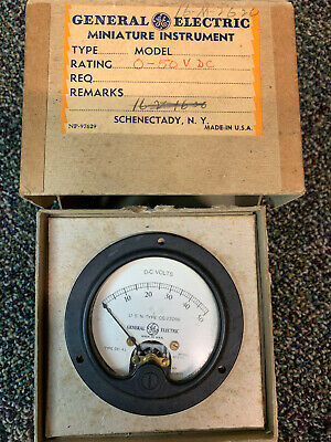 1964 Vintage Weston Model 741-59 DC Voltmeter