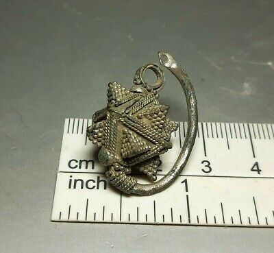 Rare Ancient Female Jewerly Silver Decoration Viking period 9-12 cen.AD #2636