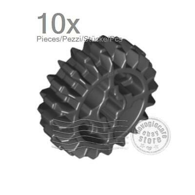 Gear 20 Tooth Double Bevel P//N 32269  ** NEW ** 2 x Lego Tan Technic