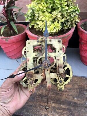 Seth Thomas Antique Mantle clock mechanism made in the USA