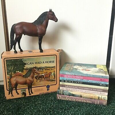 Breyer Justin Morgan Had A Horse Marguerite Henry's With Box And Book Set