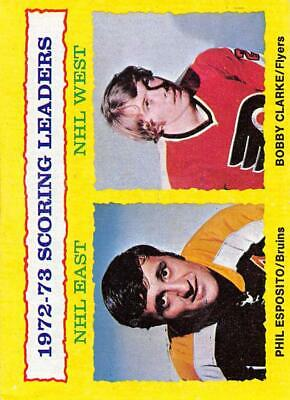 1973-74 Topps NHL Hockey Cards Set Break #1 Pick From List Base and Stickers