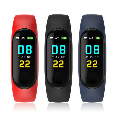 M3 0.96 inch Color Display Bluetooth Smart Bracelet for Android IOS Cell Phone