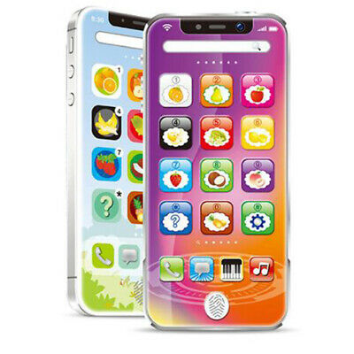 Kids Simulator Music Toy Cell Phone Touch Screen Baby Learning Toy Ages 3+