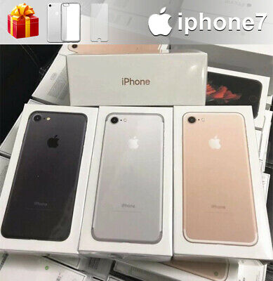 Apple iPhone 7 128G 32G Factory Unlocked Smartphone New Sealed in Apple Box