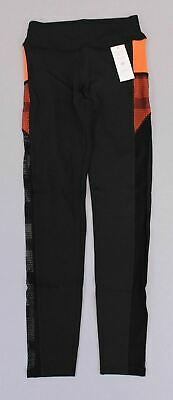Pop Fit Women/'s Stella Solid Athletic Leggings w// Pockets MM1 Black Size Small