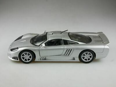Saleen S7 Coupe Silber 2000-2008 1//24 Motormax Modell Auto mit oder ohne indiv..