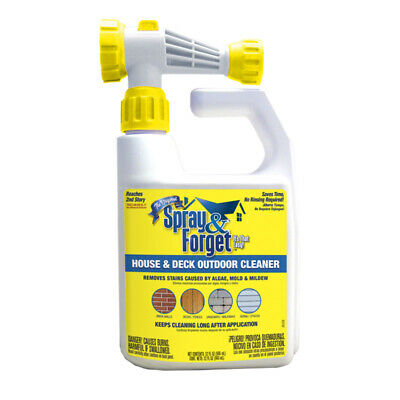 Spray & Forget House And Deck Cleaner 32 Oz. Liquid