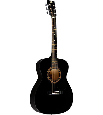 Rogue RA-090 Dreadnought Acoustic Guitar Black, ISSUES.
