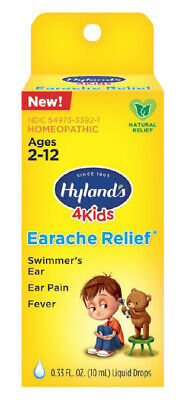 (2) Hyland'S 4 Kids Earache Relief Homeopathic ~ Insurance + Track # Included