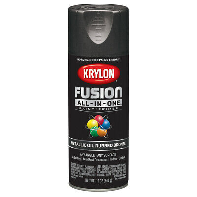 Krylon K02771007 Fusion All-In-One Spray Paint, Oil Rubbed Bronze
