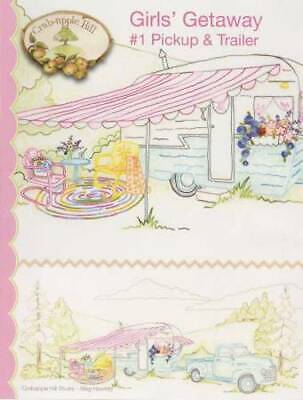 10% Off Crab-apple Hill Quilt/Embroidery Pattern - Girls' Getaway Quilt Set