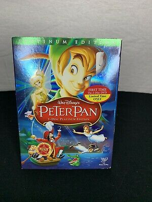 Peter Pan (Two-Disc Platinum Edition) New- Factory Sealed