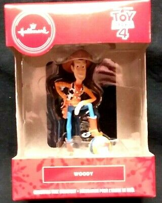 Nib 2019 Hallmark Ornament Woody Disney Pixar Toy Story 4 New Red Box