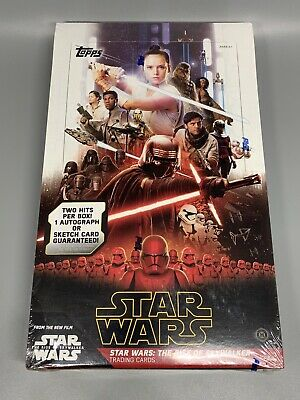 Topps Star Wars The Rise Of Skywalker Sealed Hobby Box - 2 Hits Per Box!