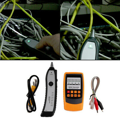 GM60 Wire Cable Tracer Tone Generator Finder Probe Tracker Network Line Tester