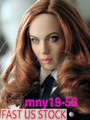 """CGL 1:6 Female Head Sculpt  F12/"""" Hot Toys Phicen Action Figure T-10 Doll"""