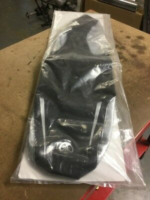 Yamaha BWs 50cc Silver & Black Seat Cover NEW
