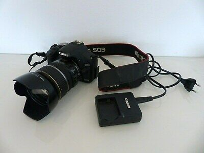 Canon EOS 500D 15.1 MP SLR-Digitalkamera - Schwarz + EFS 17-85mm Objektiv