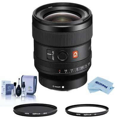 Sony FE 24mm F/1.4 GM (G Master) E Mount Lens - With Hoya Filter Kit