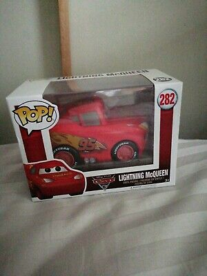 NEW OFFICIAL FUNKO POP DISNEY CARS LIGHTNING MCQUEEN #282 VINYL Figure BNIB