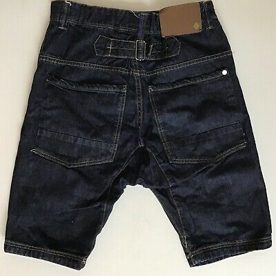 Boys Next Premium Dark Blue Denim Shorts Size 11 Years (314)