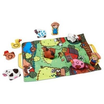 Melissa and Doug Take-Along Town Play Mat #9214 NEW