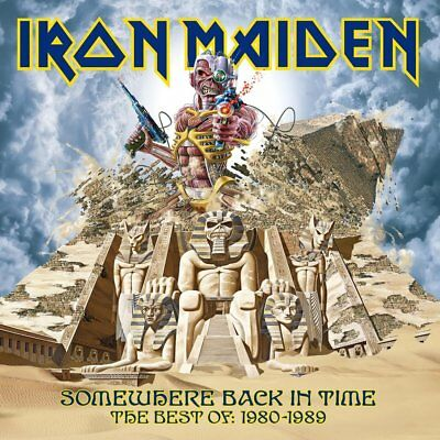 Iron Maiden Somewhere Back In Time Best Of 1980 To 1989 Lp Vinyl New