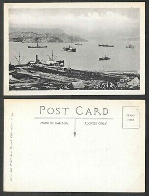Old Canada Postcard - Chicoutimi, Quebec - View of Waterfront