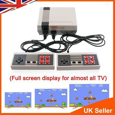 HD HDMI Retro Game Console TV Built-in 600 Games for Nintendo 2 Controller UK
