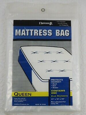 "California Queen Mattress Bag fits Pillow Top Mattress 90x61x15/"" Storage Bag"